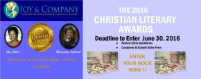 THE 2016 CHRISTIAN LITERARY AWARDS